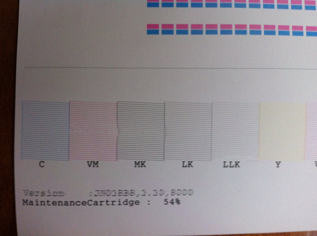Epson 7890 odd banding issue | Printer Forums