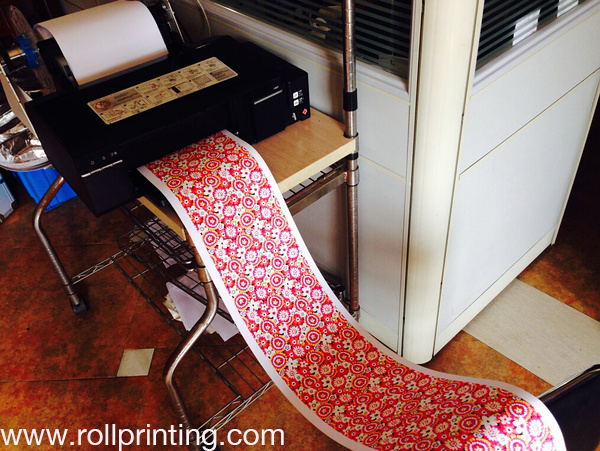 Roll Printing on Epson L800 L1300 L1800 1390 by PrintCtrl